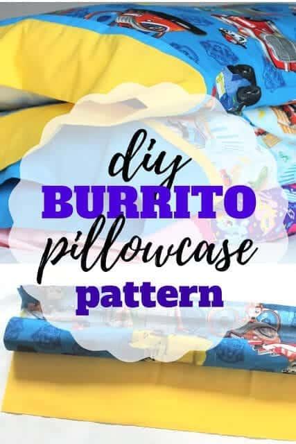 Burrito Method Pillow Case