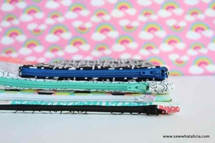 How to Sew an Easy Zipper Pouch - Sew What, Alicia?