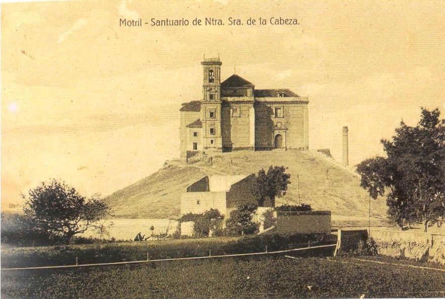 Cerro de la Virgen de la Cabeza en 1910