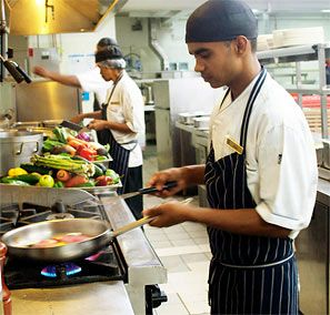 Shangri-La's Fijian Resort and Spa's Kalevu Chef Sachin Kumar