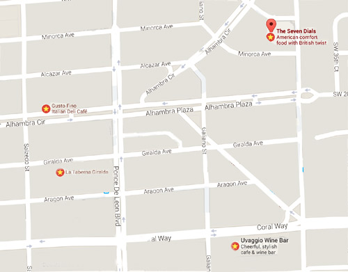 Coral-Gables-Wine-Walk-Map