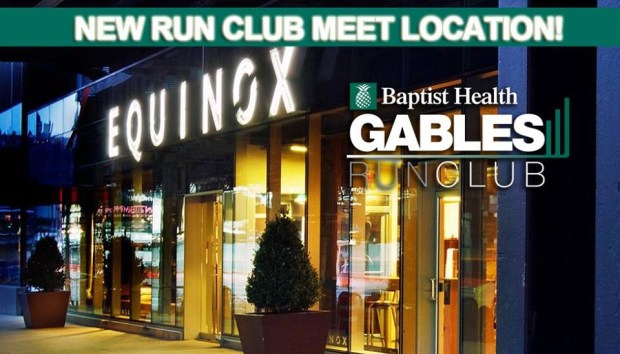 Coral Gables Run Club Flyer