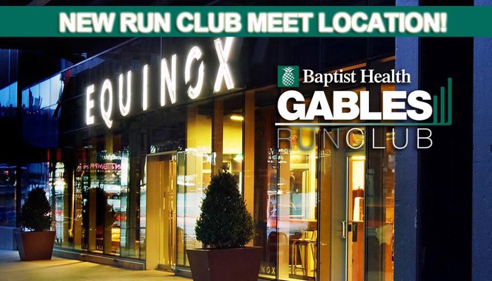 Coral Gables Run Club Flyer