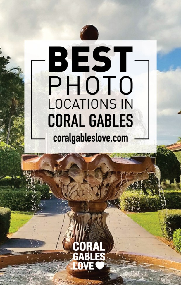 Top 5 Places to Take Engagement Photos in Coral Gables, Florida.