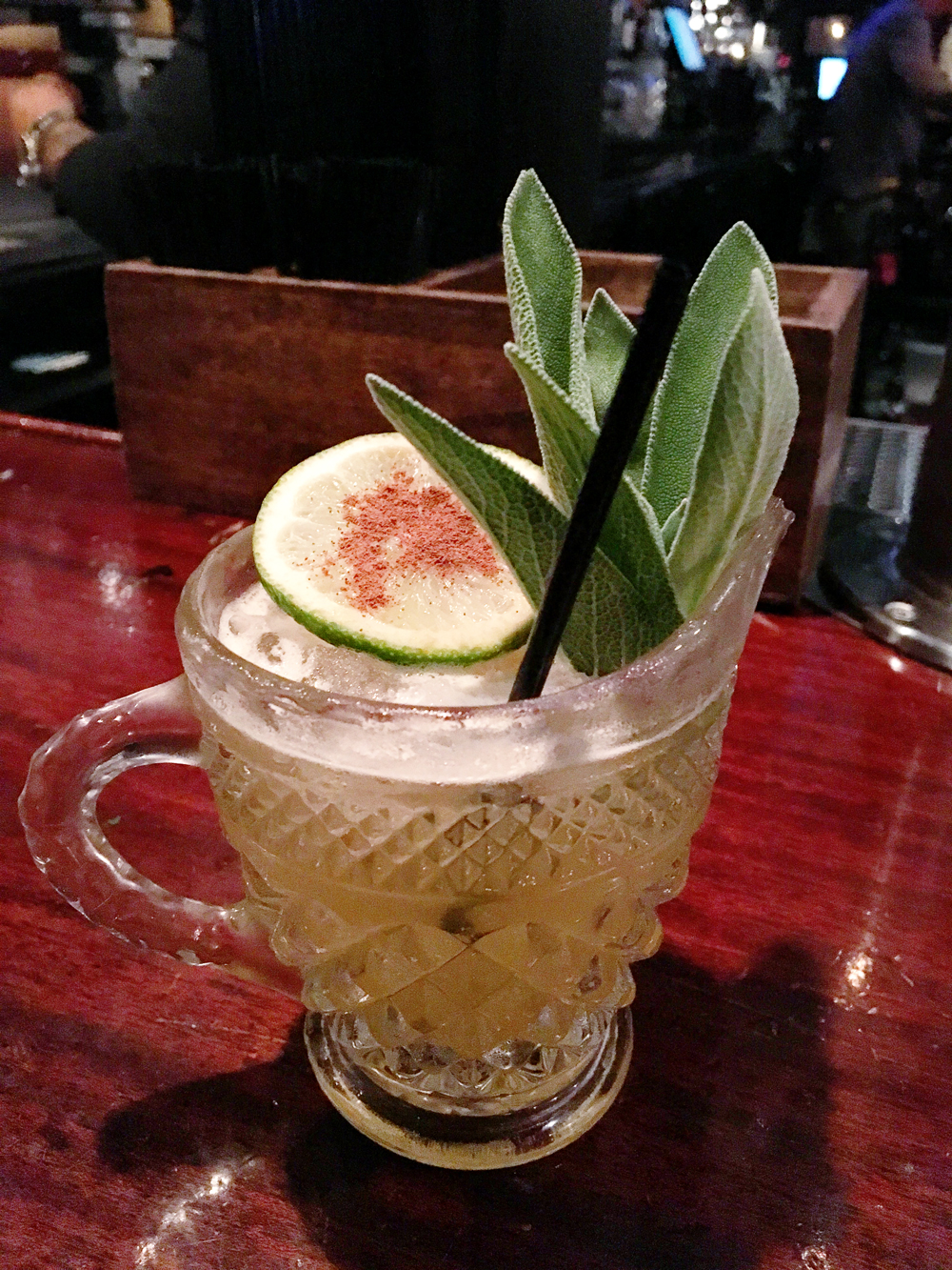 Coral Gables Food Tour May 2016 The Local Caribbean Vieux cocktail