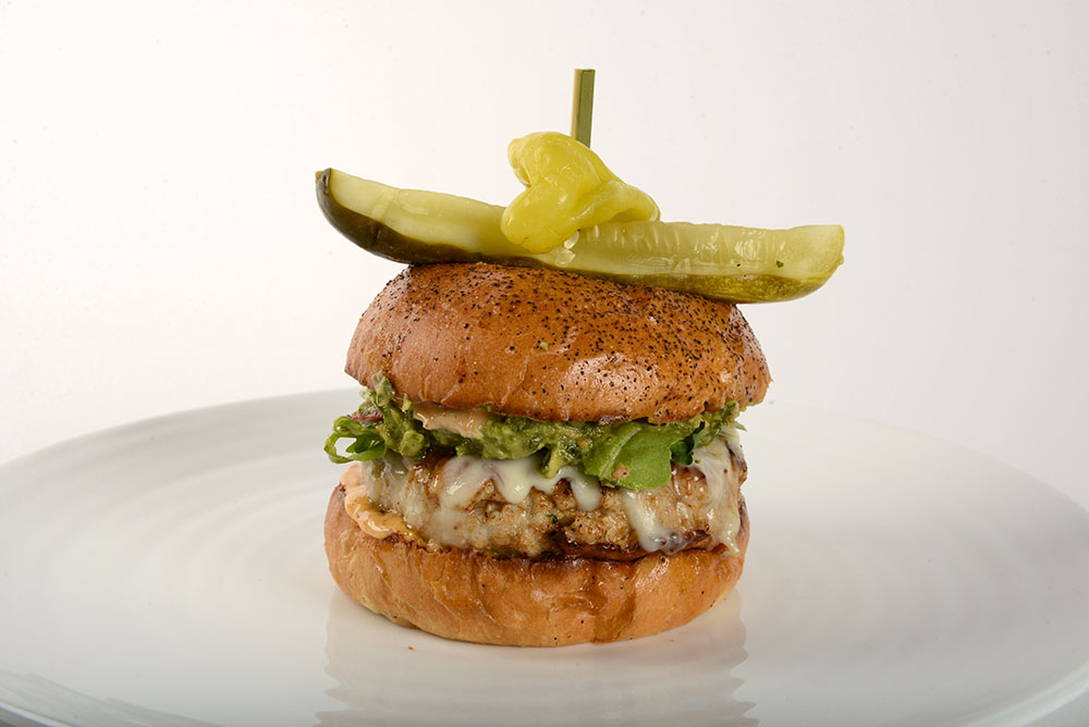 Michael Mina 74 Heritage Turkey Burger in Miami Beach