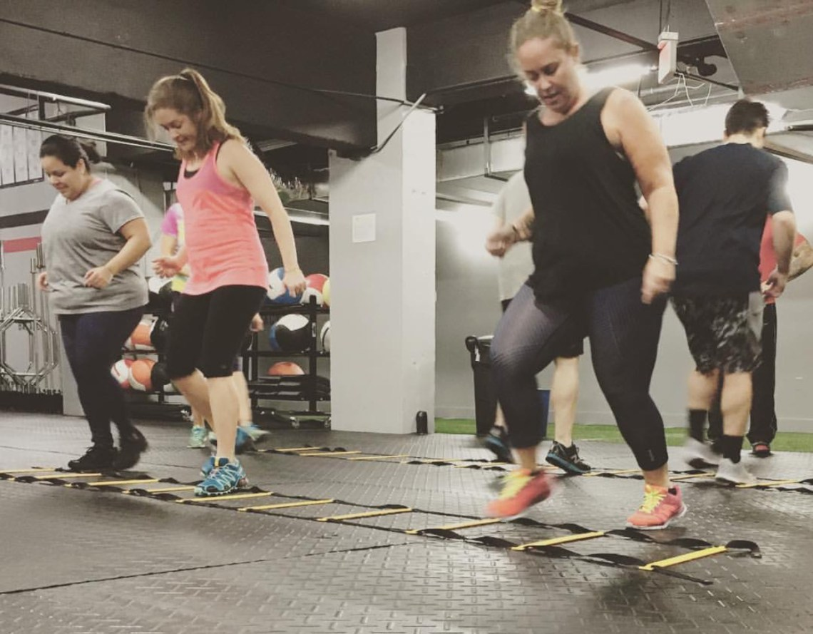 Coral Gables Workout Tour - Aim Higher Crossfit stop