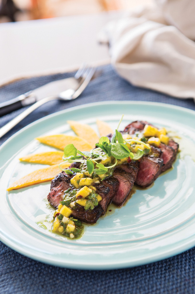Ortanique on The Mile Certified Angus Beef Grilled Flat Iron Steak