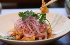 Nobu Miami at Eden Roc Hotel prix-fixe menu has the most amazing King Crab Tempura