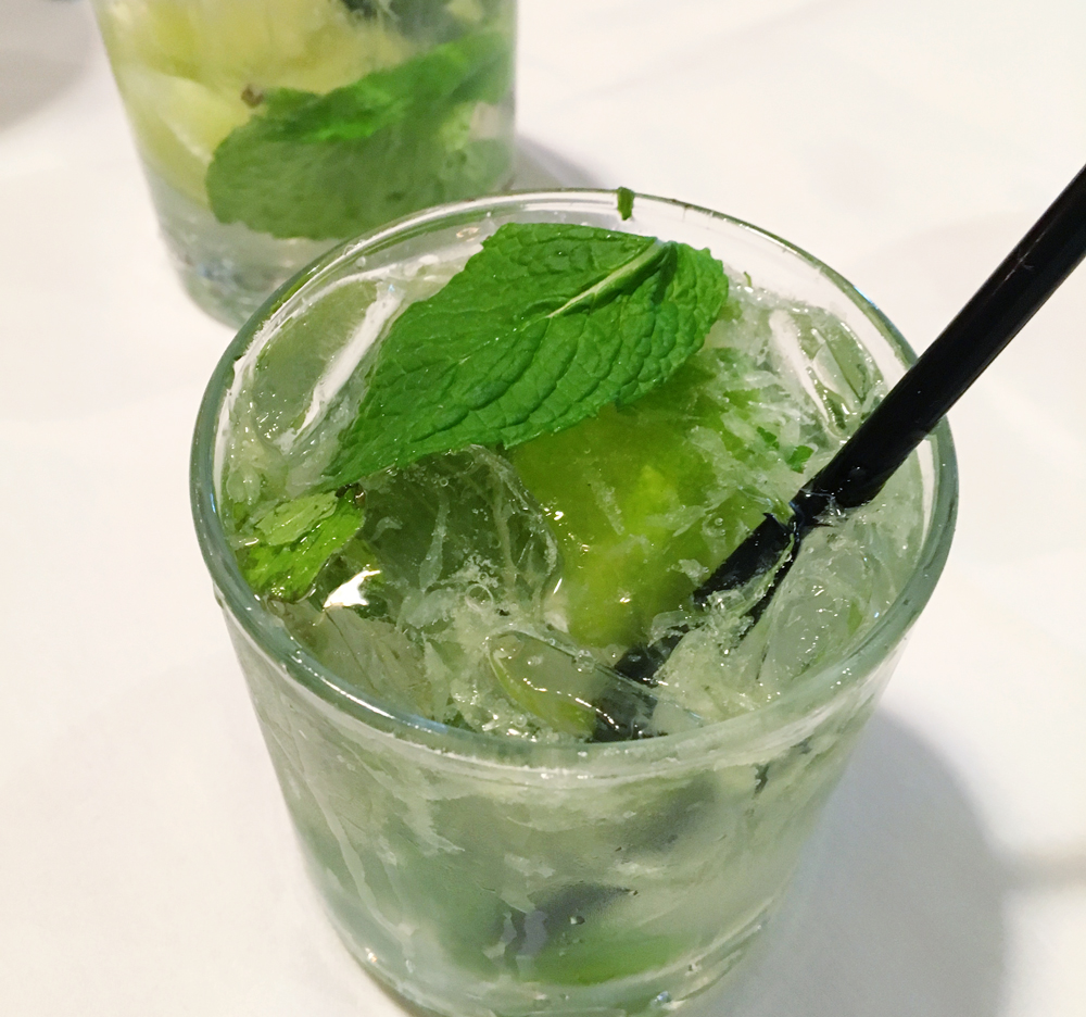 Ortanique on The Mile has the best mojitos in Coral Gables, Florida