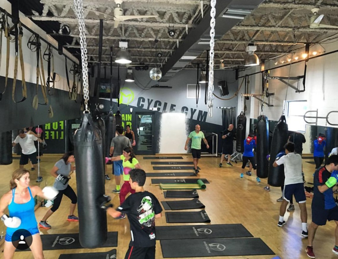 Coral Gables Workout Tour - M Cycle Gym stop