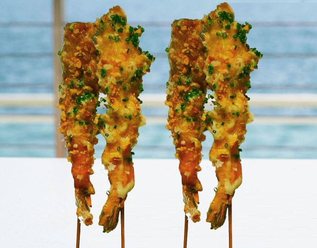 Mondrian South Beach Giant Coconut Shrimp recipe. Click to read more or pin and save for later!