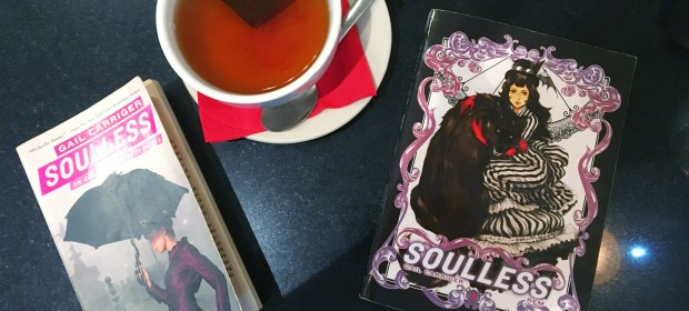 Coral Gables Love Geeky Book Club December Pick: Soulless by Gail Carriger