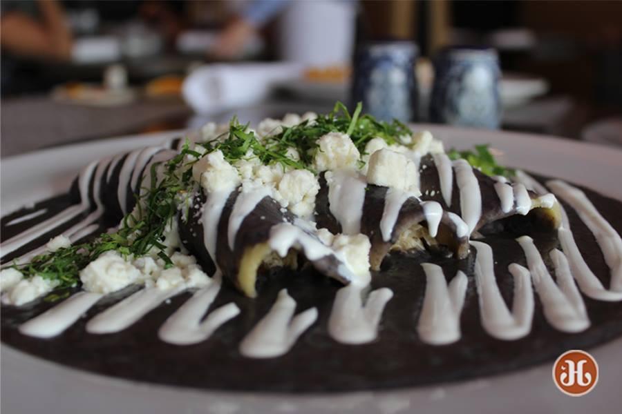 Talavera Coral Gables restaurant enfrijoladas