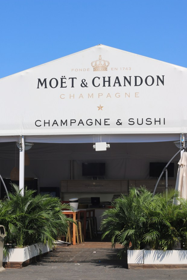 Miami Open 2017 Moet & Chandon booth