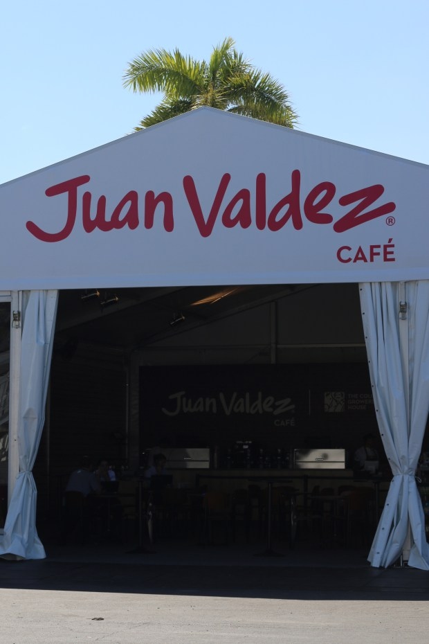 Miami Open Juan Valdez Booth 2017