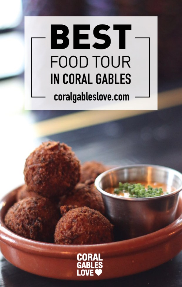 Best Coral Gables Food Tour. Best things to do in Miami. Best Hush Puppies.