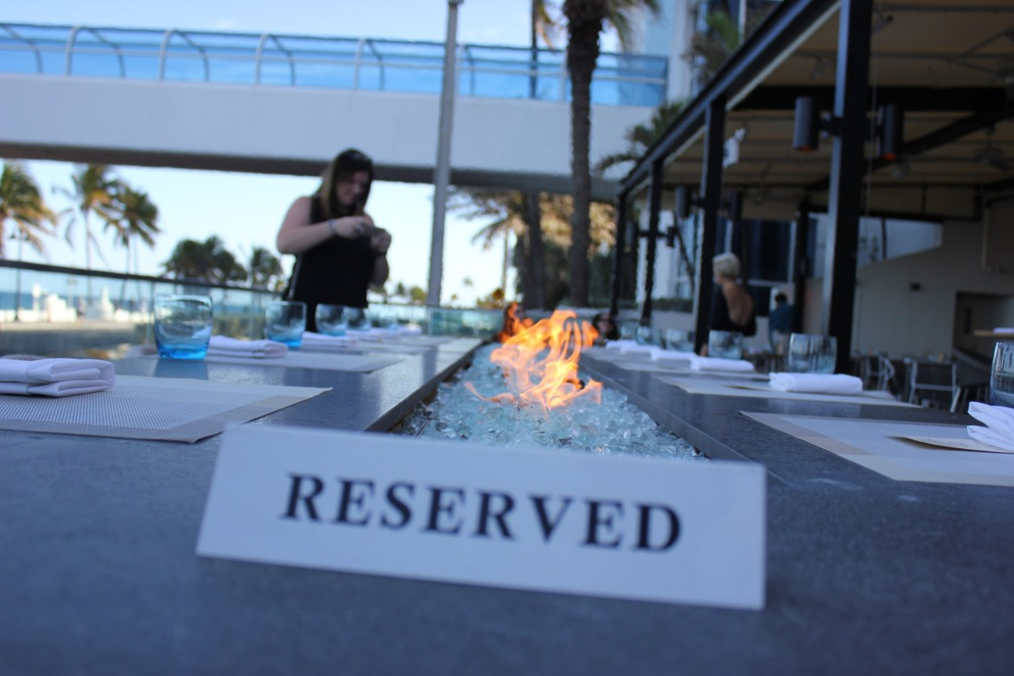 Sirens Table Ft. Lauderdale Dinner with a view