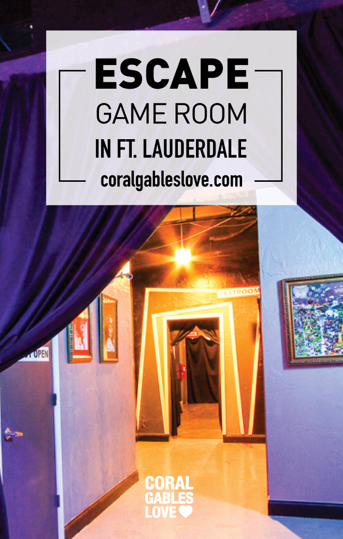 Think Escape Game Room in Ft. Lauderdale, Florida