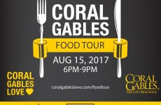Coral Gables Food Tour August 2017