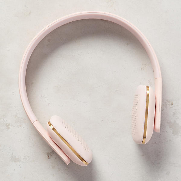Travel Gift Ideas: Blush wireless headphones