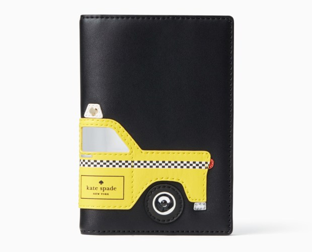 Kate Spade New York taxi passport holder