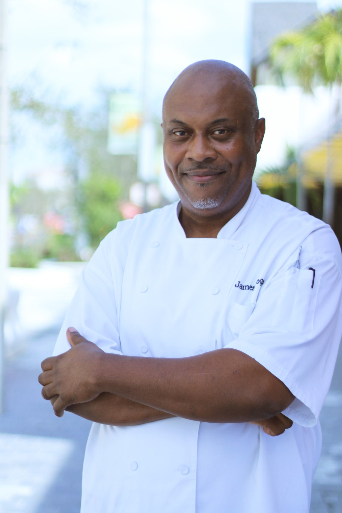 Chef James from Le Provençal the best French restaurant in Coral Gables. Miami, Florida.