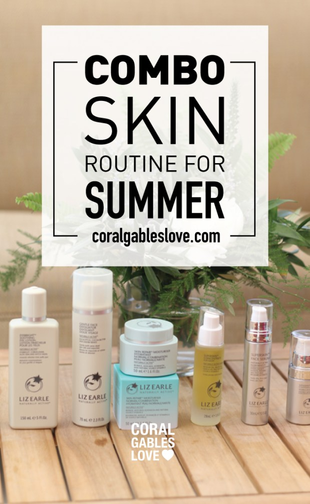 Combination Skin Routine for Summer in Miami