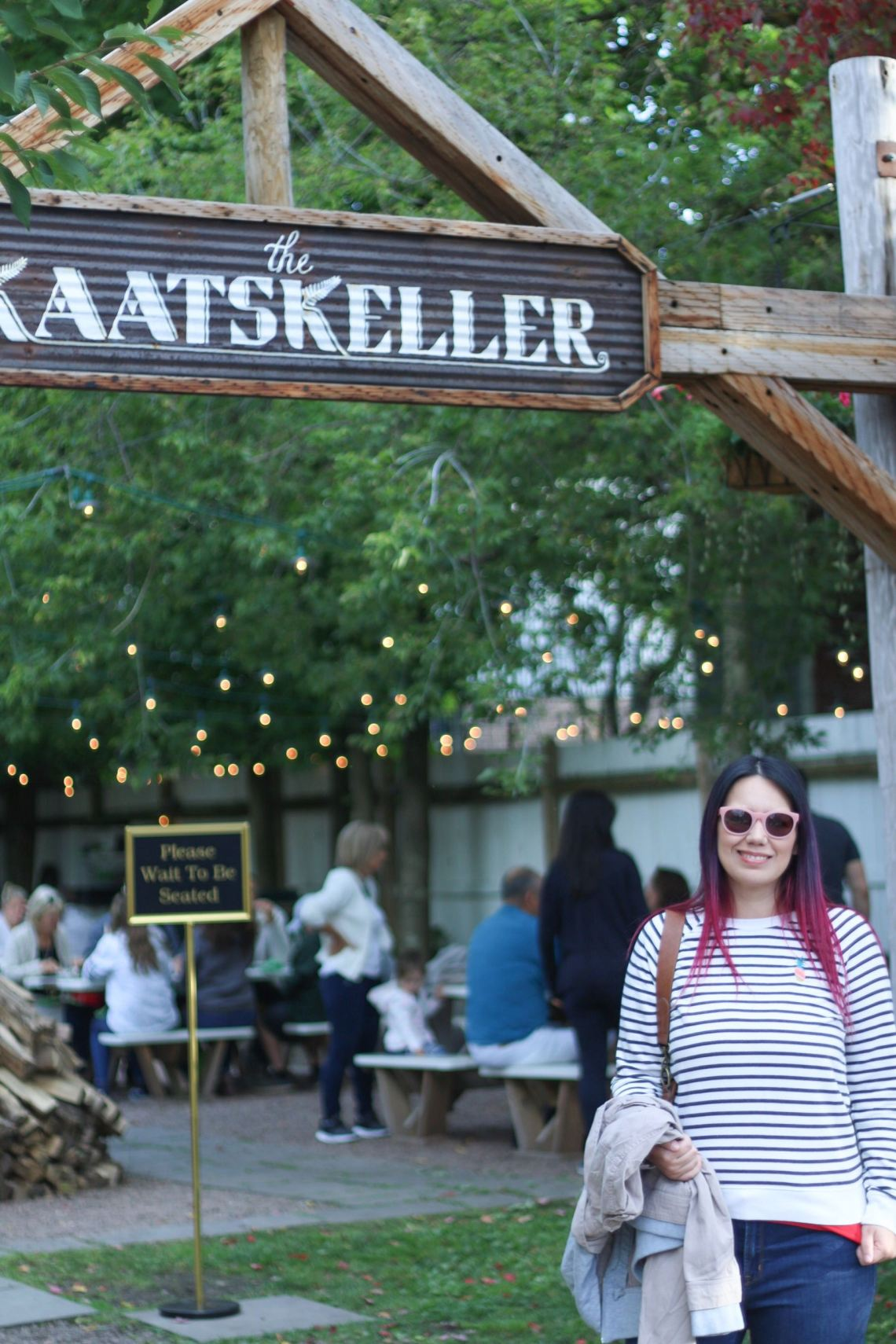 The Kaatskeller wood-fire oven pizza restaurant in Livingston Manor - Catskill, New York