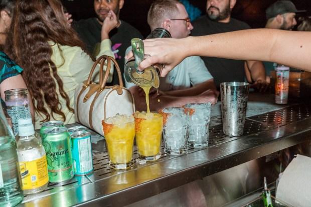 Coyo Taco Coral Gables location on Giralda Avenue secret bar
