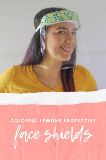 buy Lemons Plastic Protective Face Shields In stock