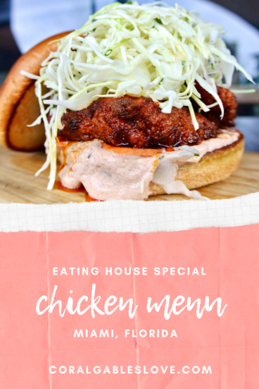 Eating House Chicken Menu in Coral Gables, Miami Florida