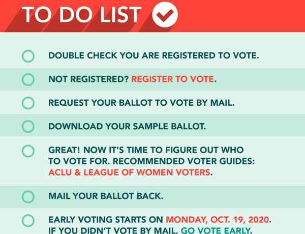 Florida November 2020 General Election To Do List For Those in Miami-Dade