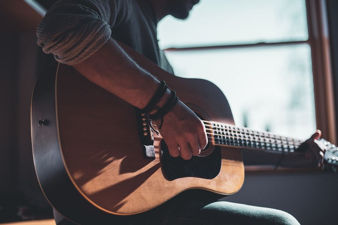 Best Gift for Him Online Guitar, Ukulele or bass lessons and gables guitar studio