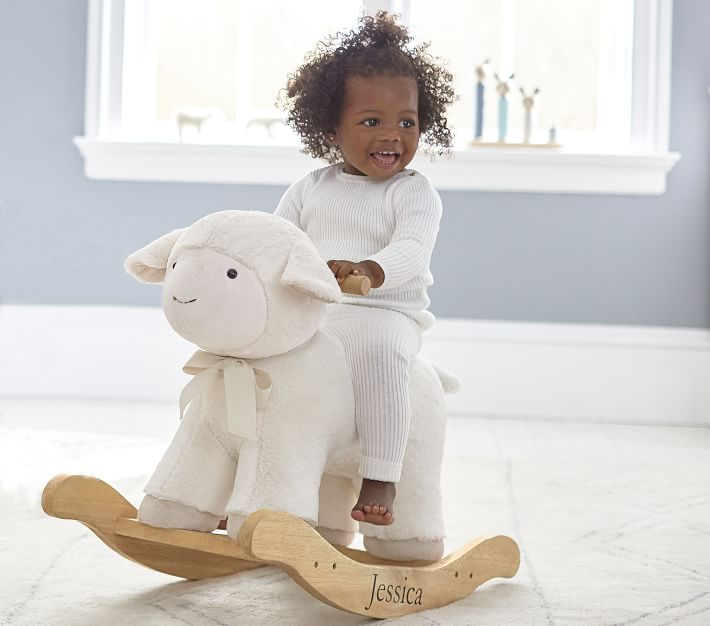 best kids gifts 2020 lamb plush rocker