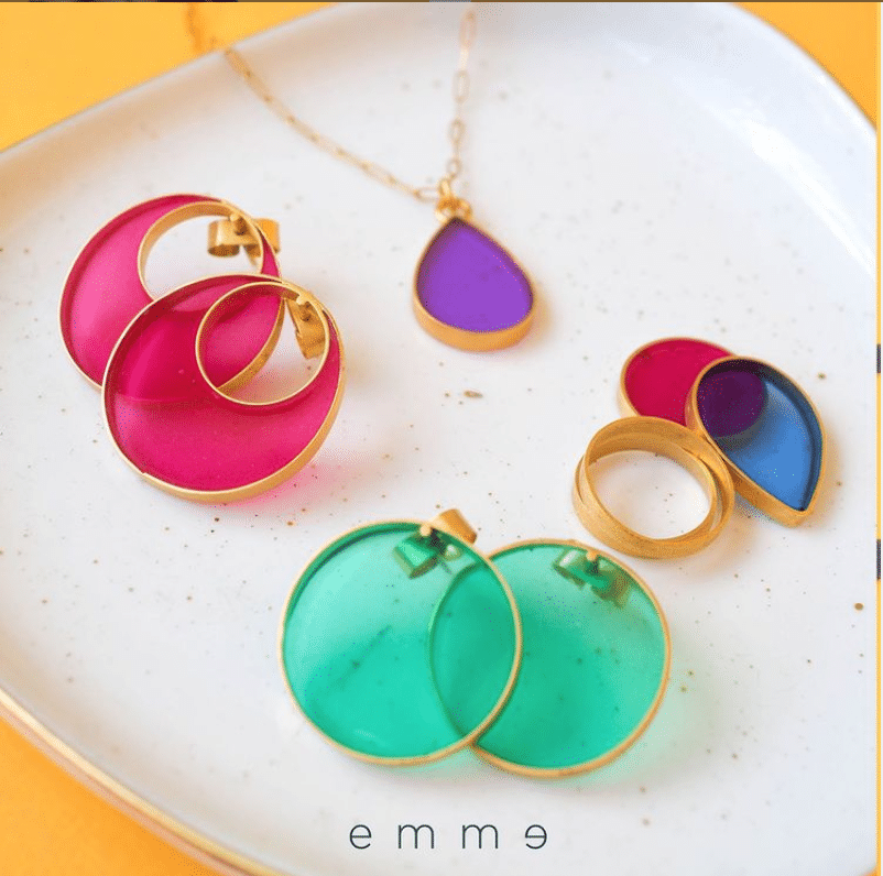 We are emme miami jewelry small business