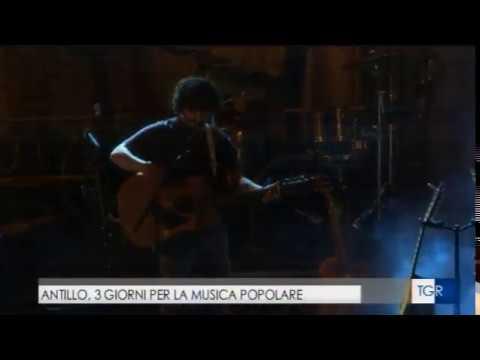L'Antillo Folk Fest sul Tgr Rai della Sicilia