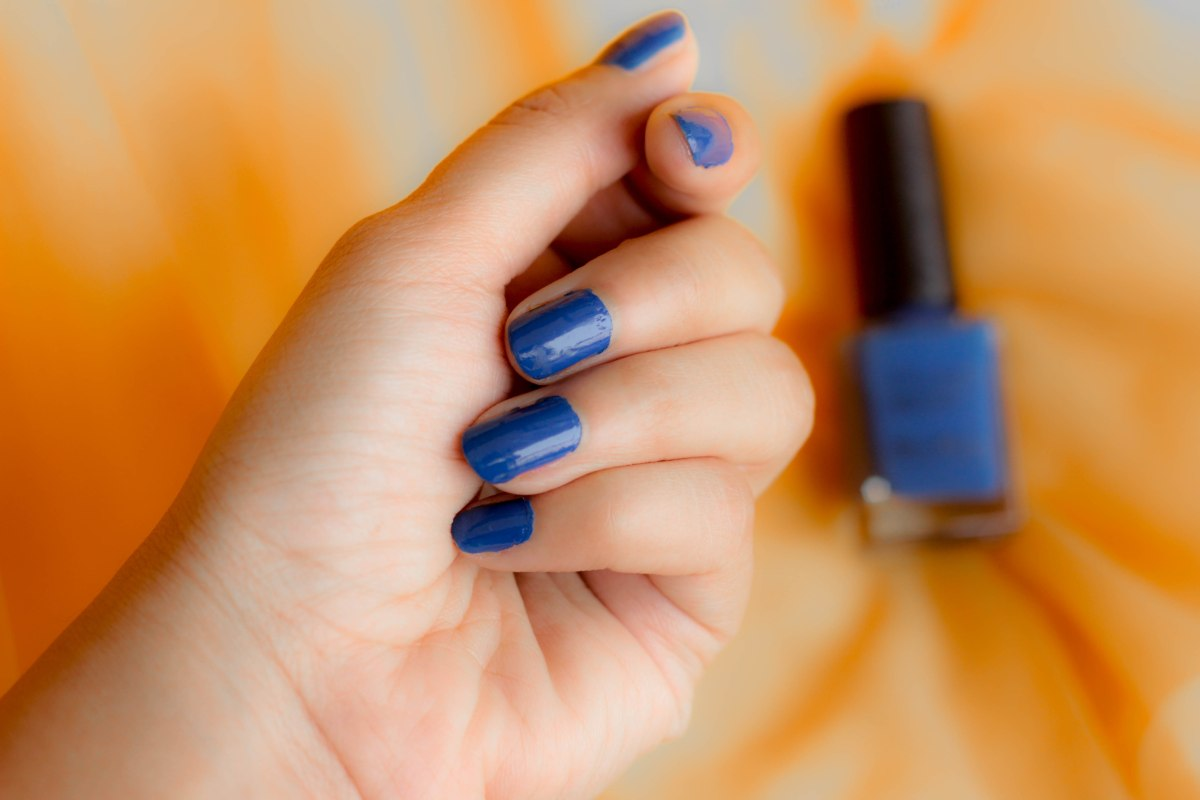 From the West Side Aisles: Studio West Nail Polish in Indigo ...