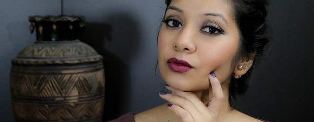 How to Wear Deep Vampy Lips