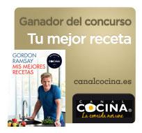 Ganador del concurso tu mejor receta