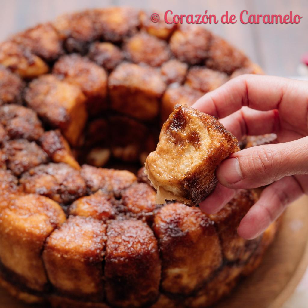 Monkey bread Receta Pan de Mono