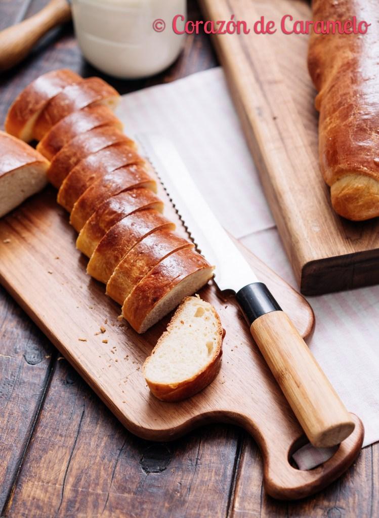 Pan de brioche perfecto para hacer torrijas   Receta definitiva