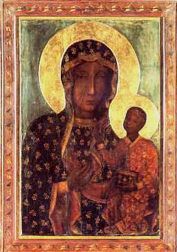 La imagen milagrosa de la Virgen de Czestochowa