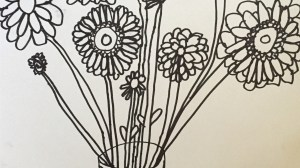 Drawing Flowers from Life