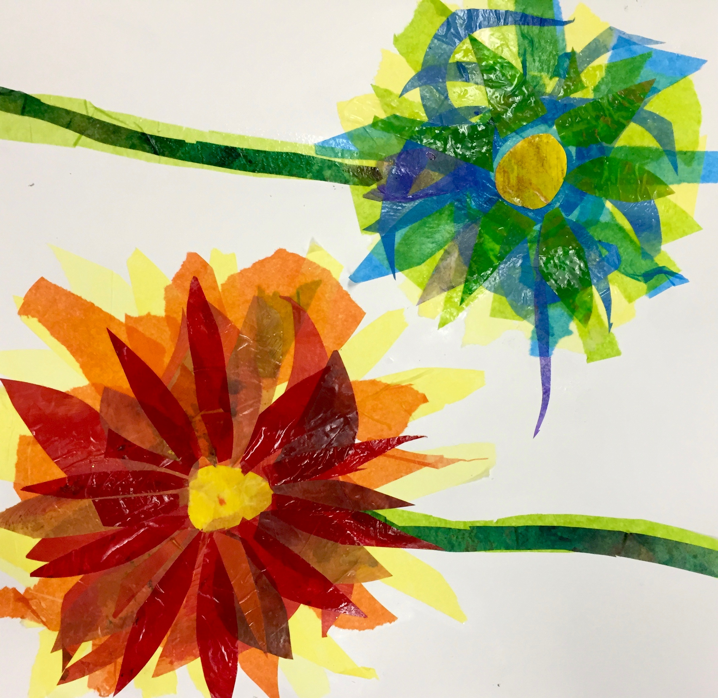 Flower Collage 6th And Up Corbie Arts