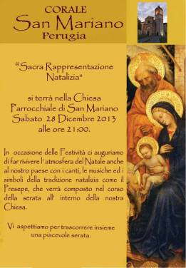 La Corale di San Mariano esordisce con l'arte sacra 2