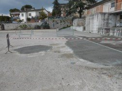 Una buona notizia: buche sistemate sul tetto/parcheggio di Corciano 5