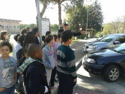 Scuola, a Corciano l'educazione stradale si fa per strada con i vigili docenti per un giorno 13