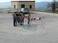 Una buona notizia: buche sistemate sul tetto/parcheggio di Corciano 3