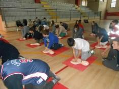 La Croce rossa alla Bonfigli insegna il primo soccorso 16